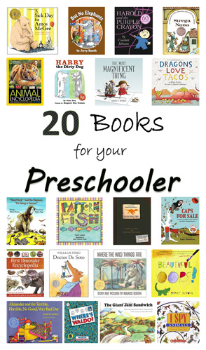 20 Books for your Preschooler
