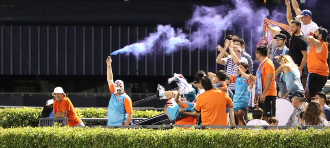 The Miami FC's Dade Brigade gets #LIT!