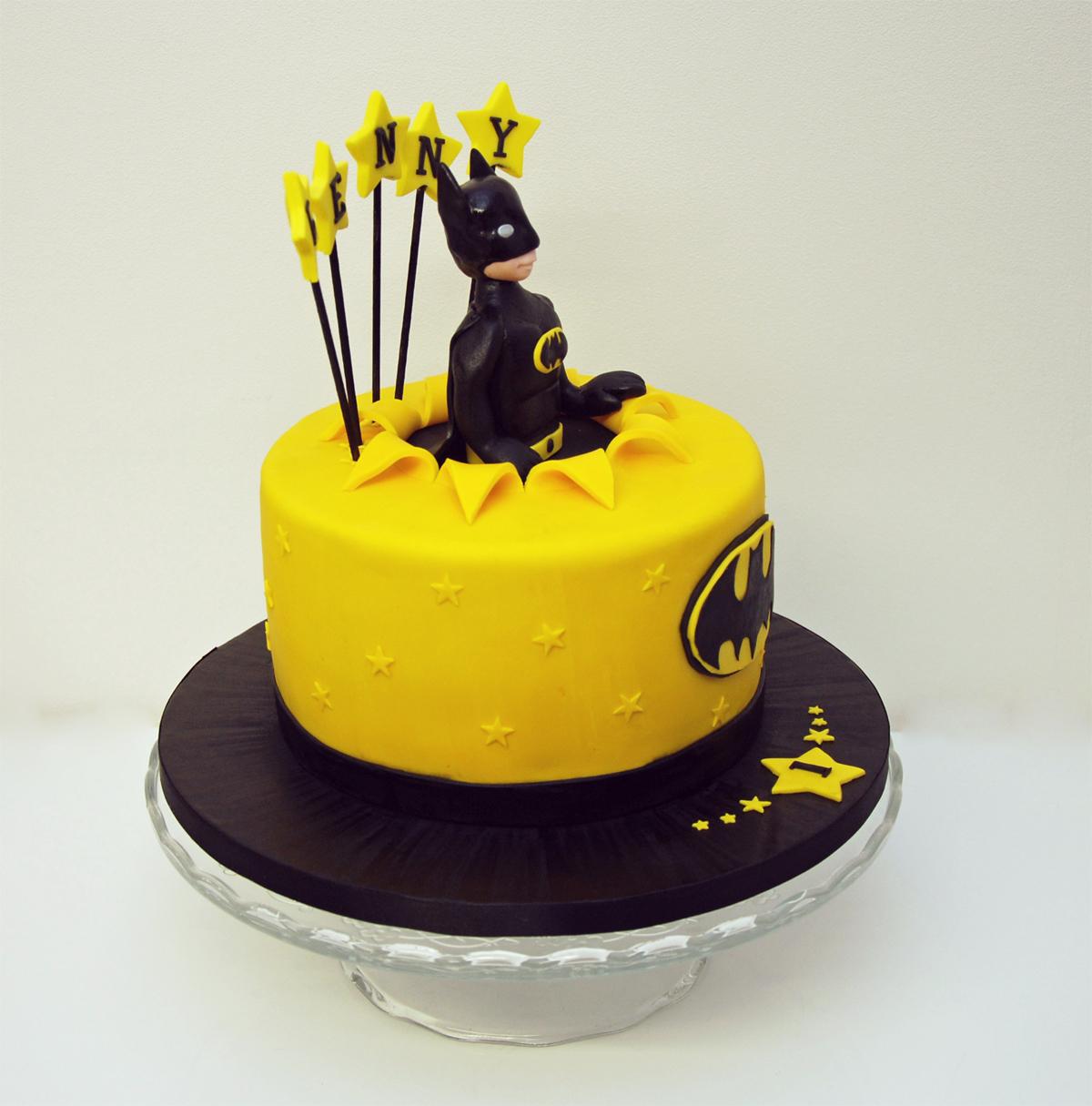 Premier Gâteau Anniversaire Enfant Batman