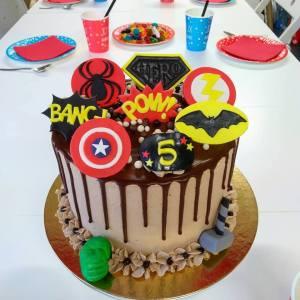 Le Monde de Kita dip cake heros