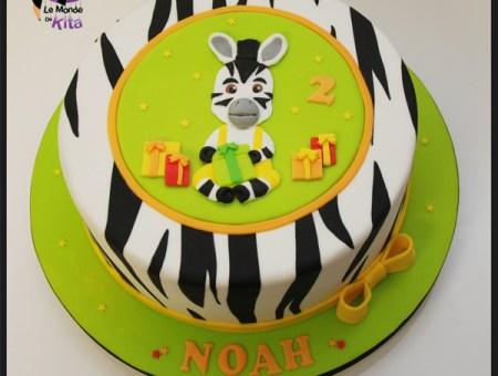 Le gâteau d'anniversaire de Noah