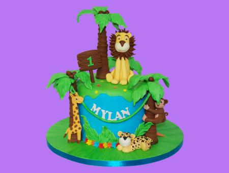 Birthday cake pour mylan