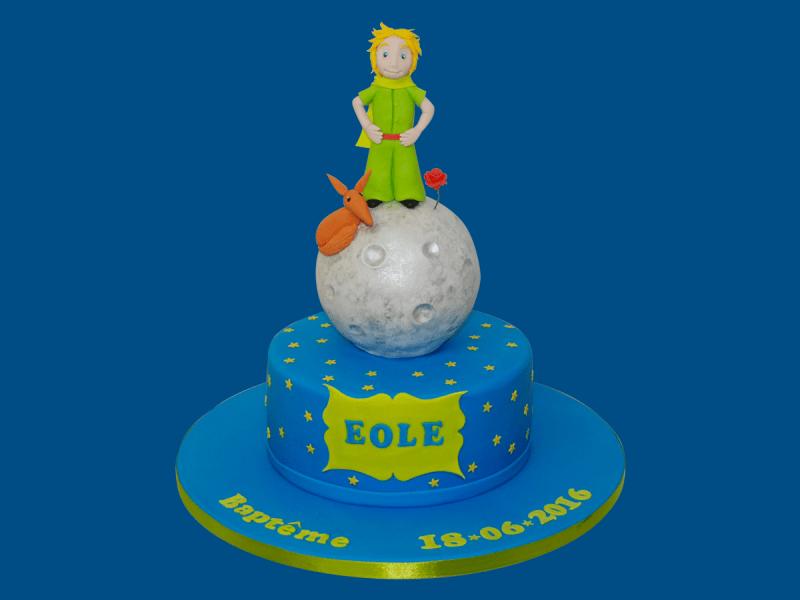 gâteau petit prince le monde de kita
