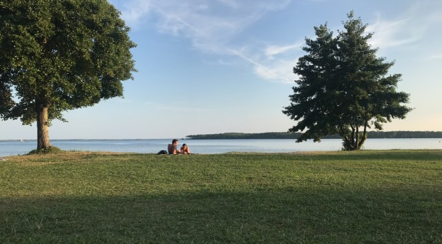 Aller à Lacanau: Le lac du Moutchick