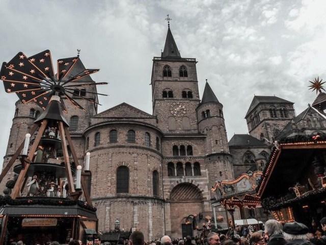 Les fêtes de Noël en Allemagne, marchée de Noël de Trêves