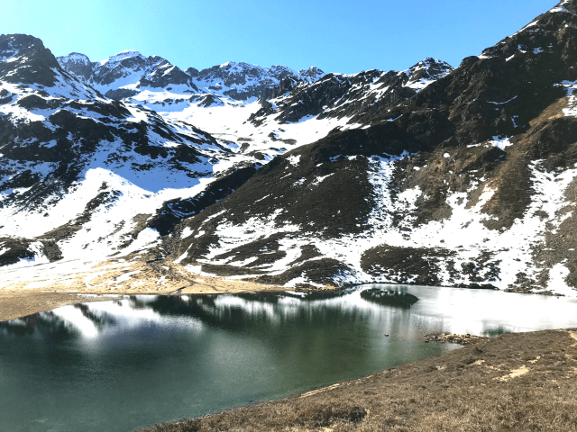 Balade au Lac d' Isaby