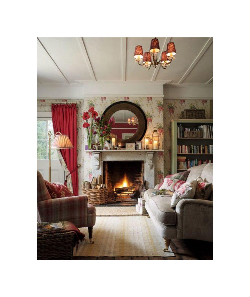 Deco Chambre Style Cottage Anglais maison papier peint style anglais décoration de maison