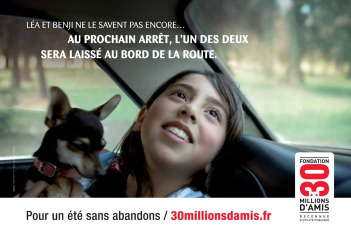 Campagne 30 Millions d'Amis 2010