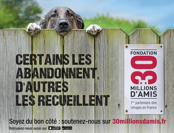 Campagne 30 Millions d'Amis 2013