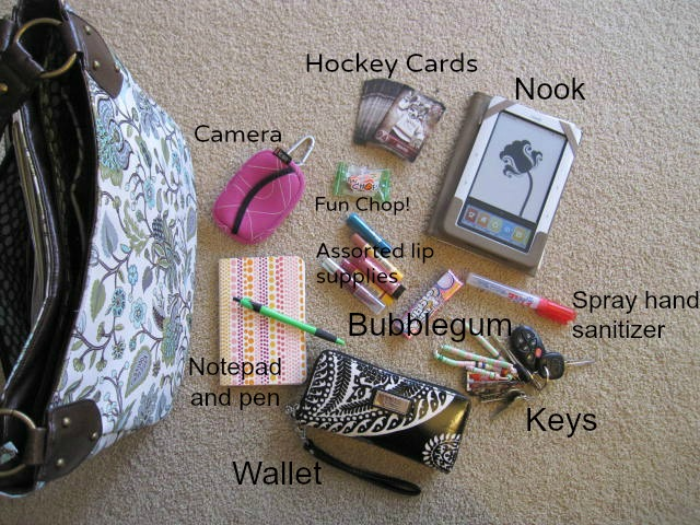 purse items