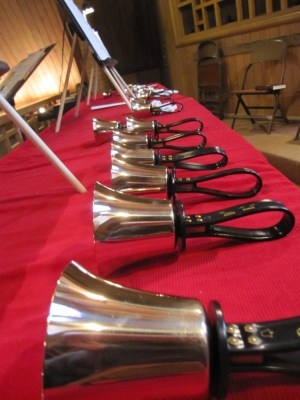 I still play in the handbell choir at church.