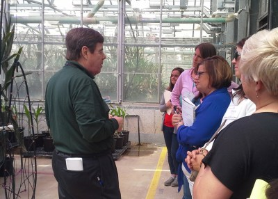 Monsanto greenhouse