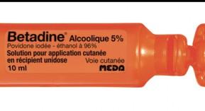 Btadine Alcoolique Antiseptique Pour Peau Saine 2206