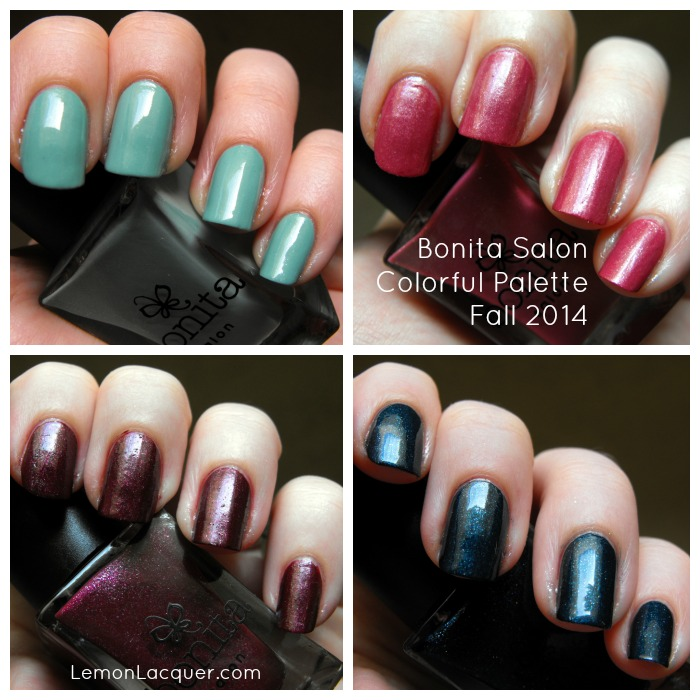 Bonita Salon - Colorful Palette swatch collage