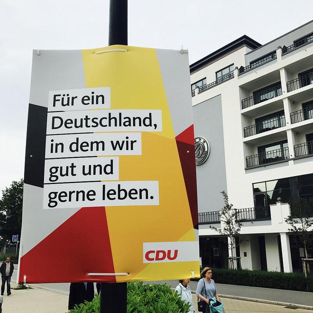 CDU: Für ein Deutschland, in dem wir gut und gerne leben.