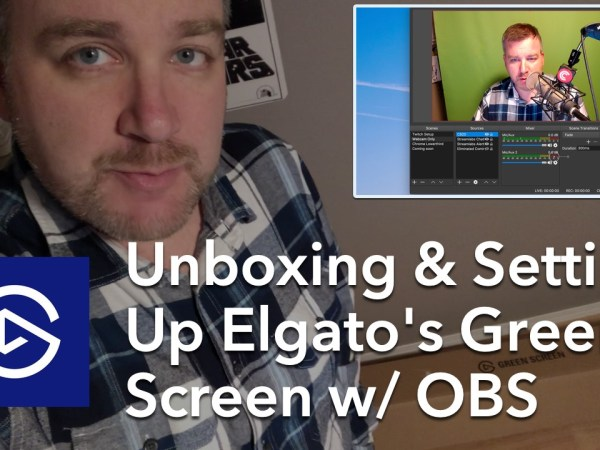 Unboxing and Setting Up Elgato's Green Screen