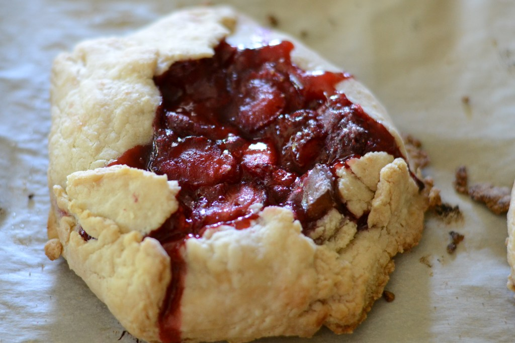 Gluten-free Strawberry Rhubarb Tart