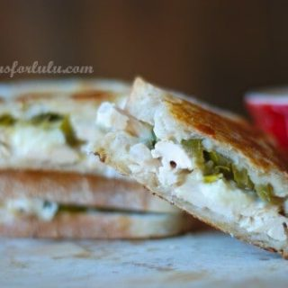 Jalapeno Chicken Grilled Cheese