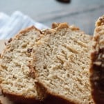 This beer bread will make you feel like a baking expert! It's incredibly tender and soft. The pumpkin ale gives this beer bread a deep rich flavor that is perfect for fall!