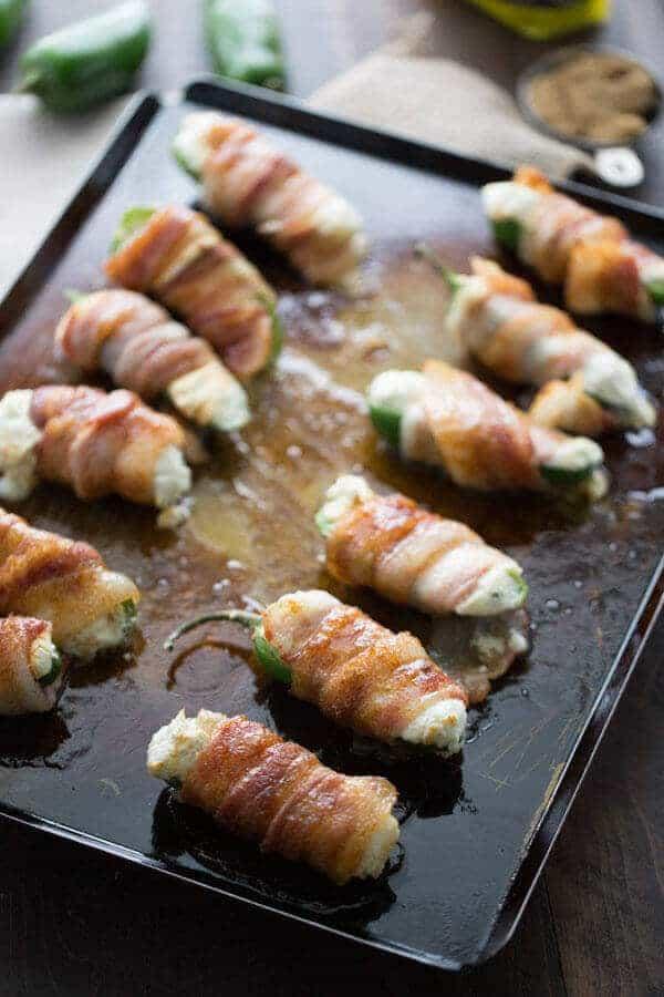 Stuffed Jalapenos with Brown Sugar Bacon #SplendaSweeties #SweetSwaps