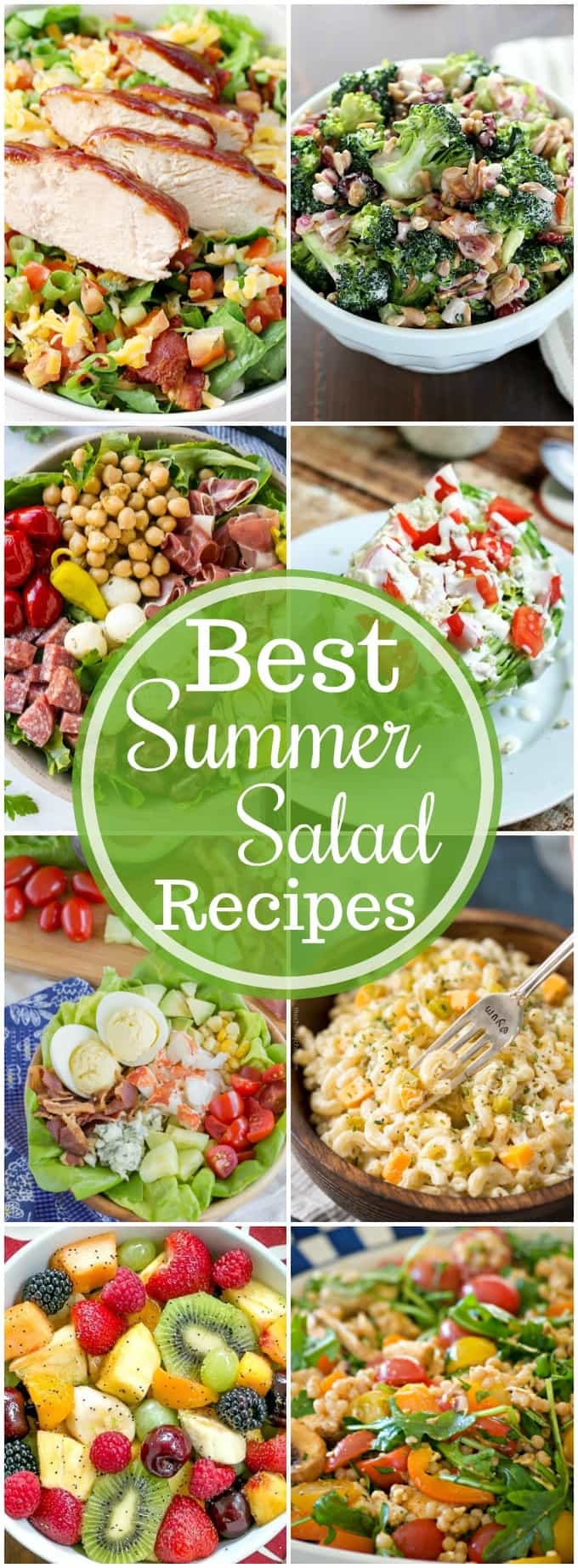 Summer salad recipes are essential when it comes to potlucks and bbs! You'll find a salad here that everyone will love!