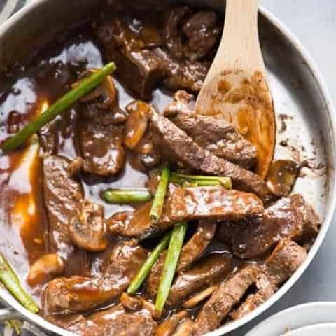 Authentic Mongolian Beef