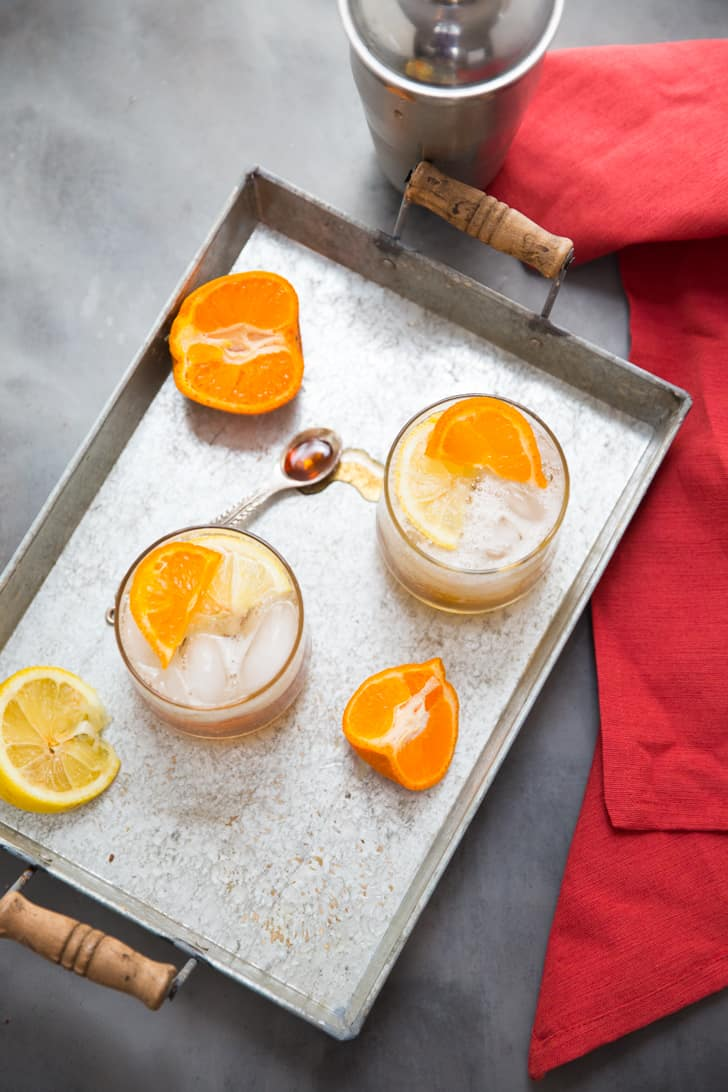 Bourbon cocktails