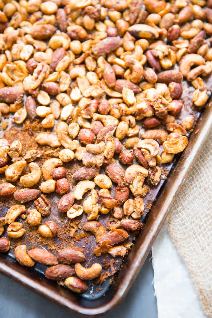 Spiced Mixed Nuts Recipe