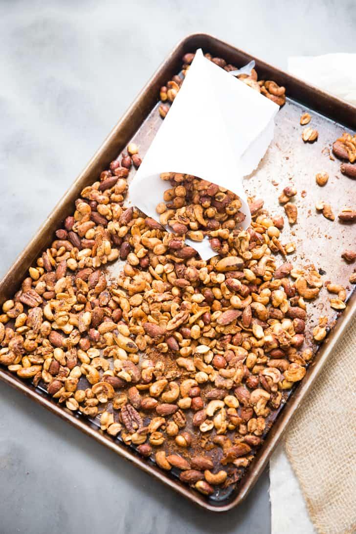 Savory Spiced Nuts