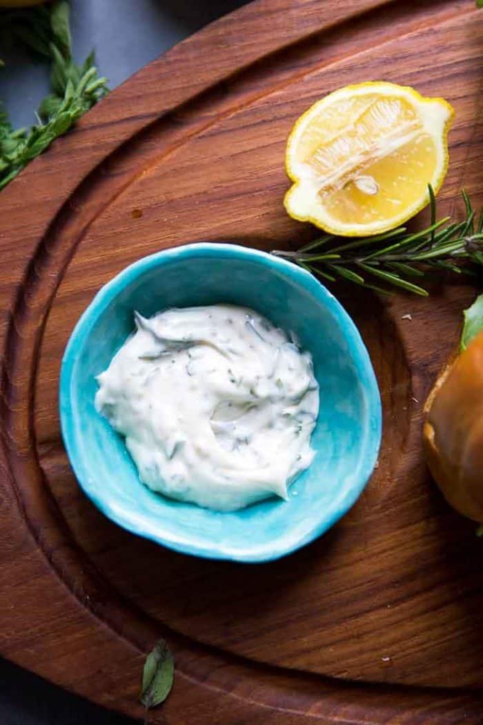 Lemon Aioli bowl