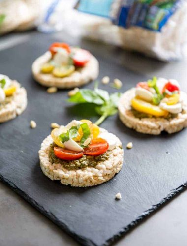 Rice cake recipe with tomatoes