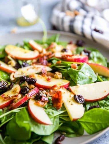 spinach salad tongs