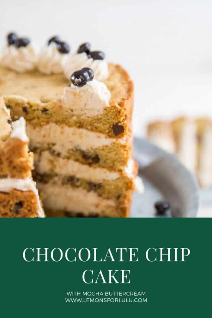 chocolate chip cake title