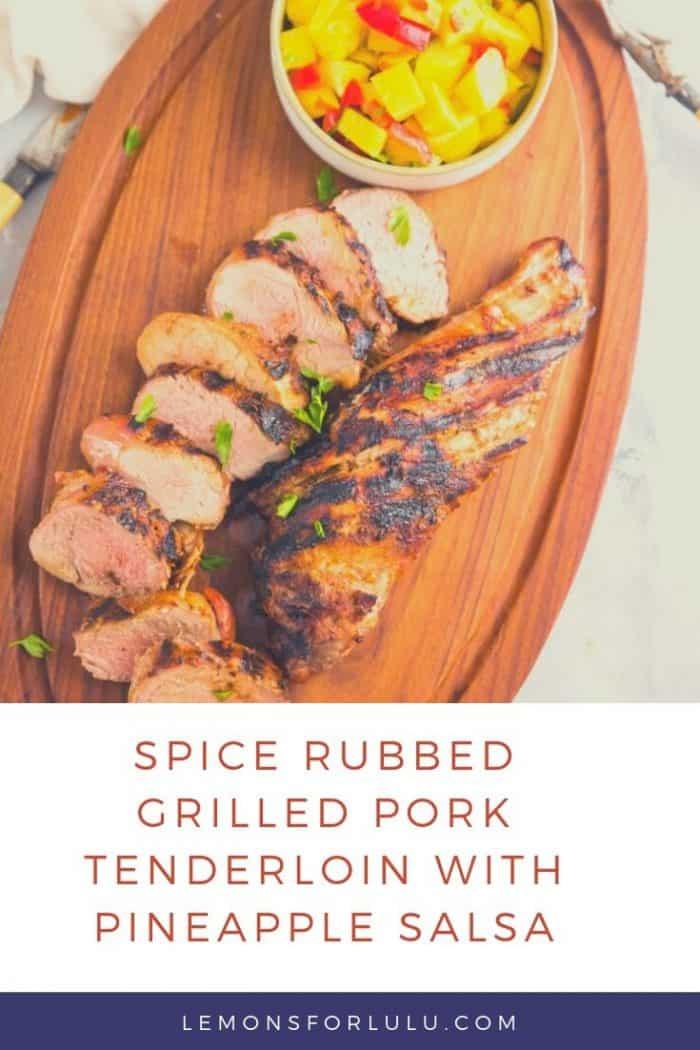grilled pork tenderloin tittle