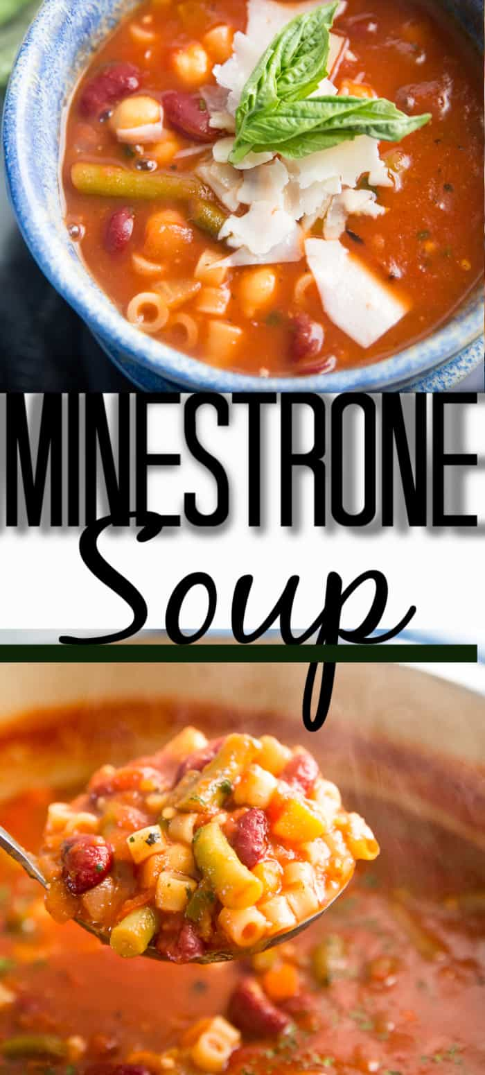 minestrone soup title
