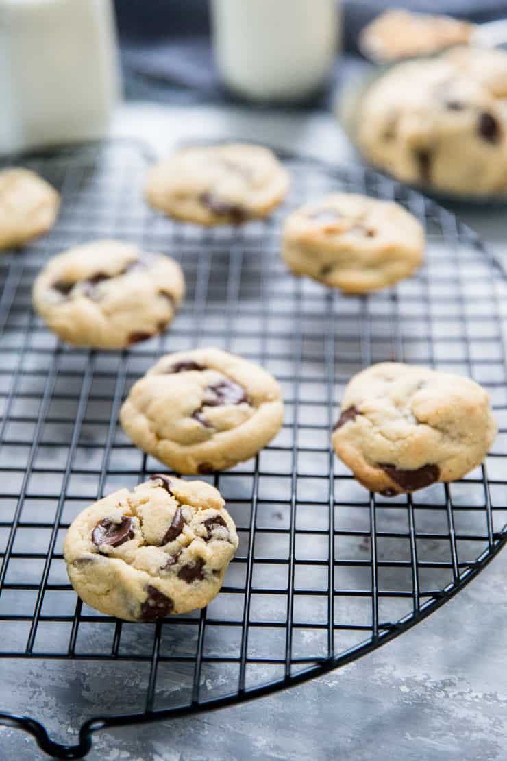 brown sugar cookies with chocolate chips