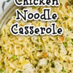 chicken noodle casserole title picture