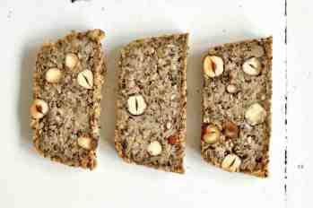 Life-Changing-Bread in Scheiben