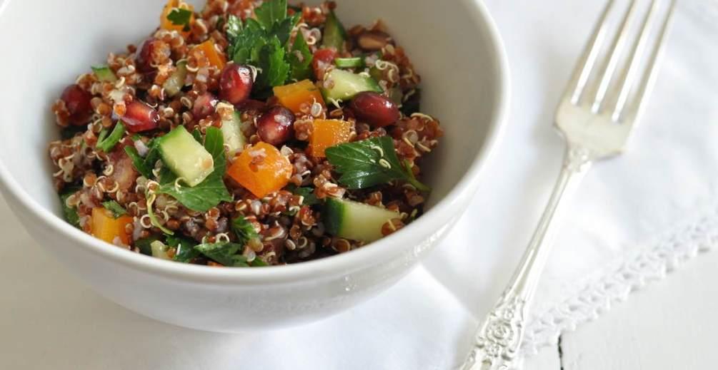 quinoa salat
