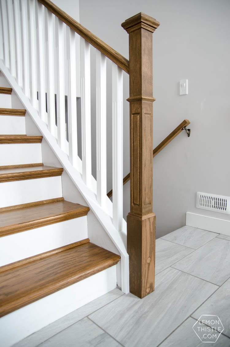 How To Install A Wooden Handrail On Split Level Stairs Lemon Thistle   New Banister For Stairs   Stainless Steel   Traditional   Oak   Contemporary   Indoor
