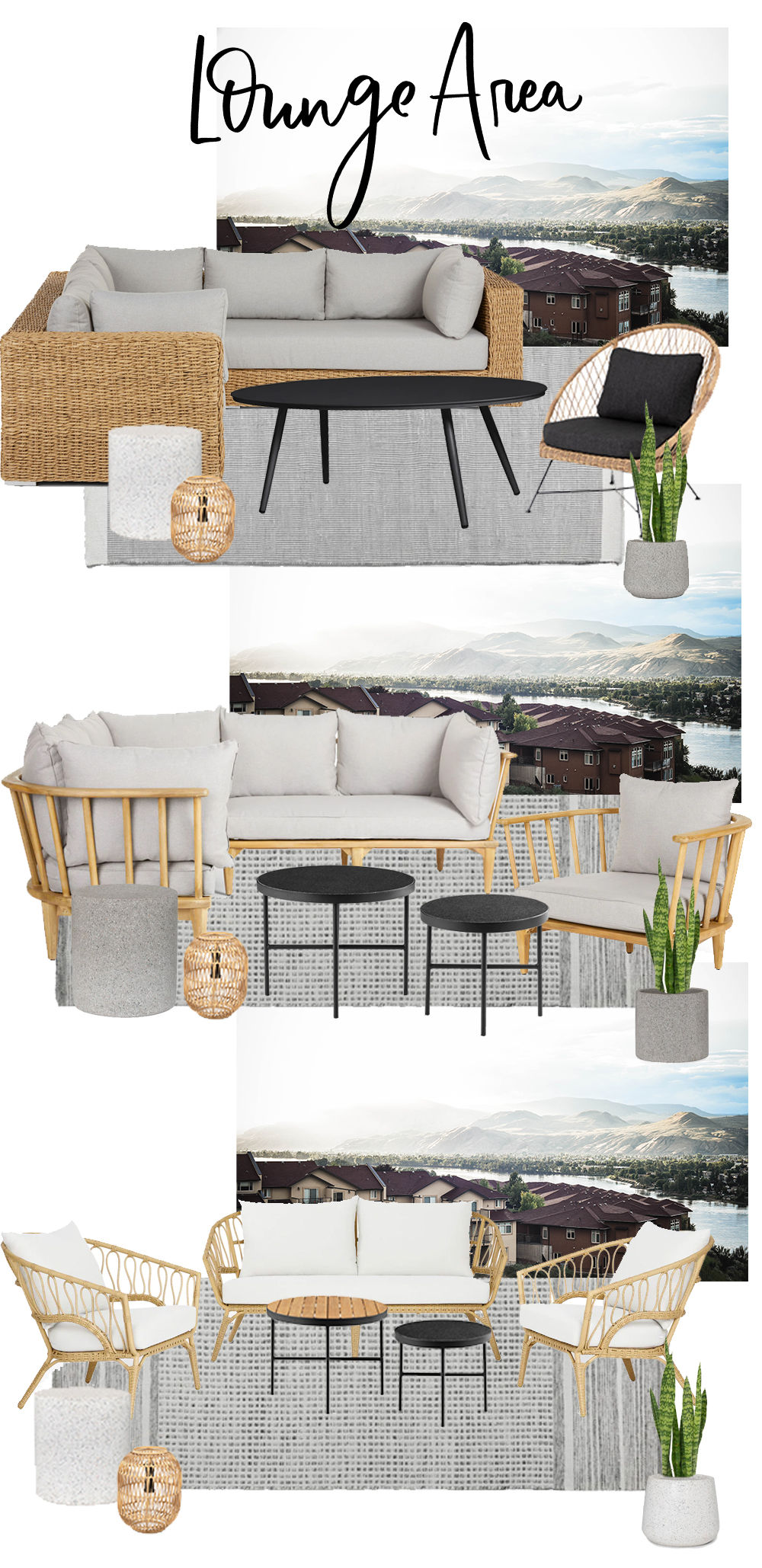 picking modern outdoor patio furniture