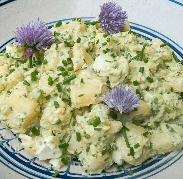 Potato Salad with Sorrel Dressing recipe