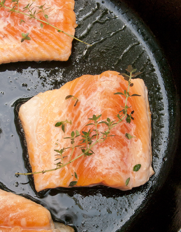 Arctic Char with Basil Sauce recipe