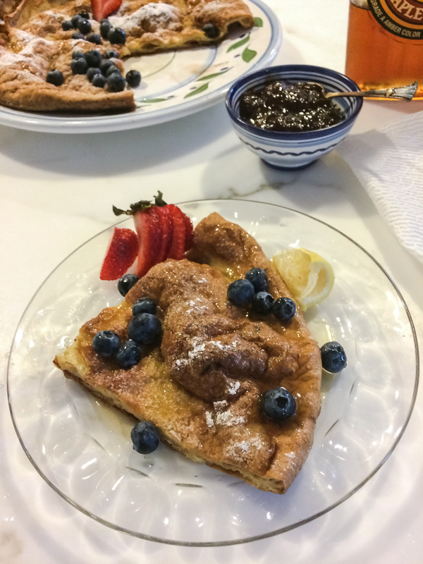 Gluten-free Dutch Baby Pancake recipe