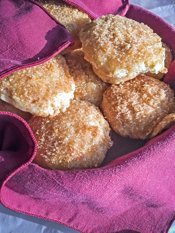 Apple Muffins with Lemon Glaze