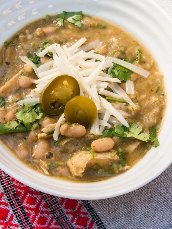 Supreme White Chicken Chili, comfort food Recipe