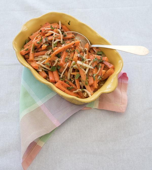 Sweet n' Spicy Herbed Carrots recipe