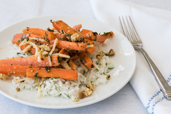 Sweet n' Spicy Herbed Carrots recipe