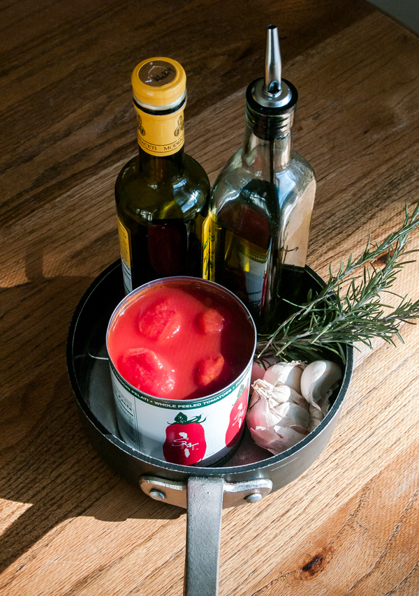Tomato Sauce with Balsamic Vinegar and Rosemary recipe