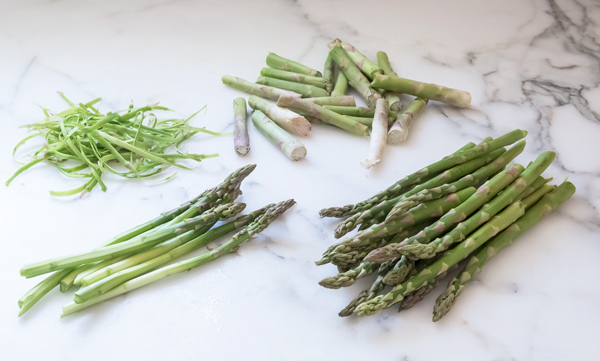 Asparagus with Orange Dressing reicpe